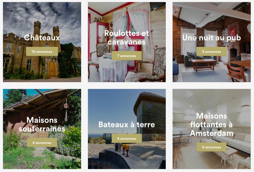 Annonces Airbnb