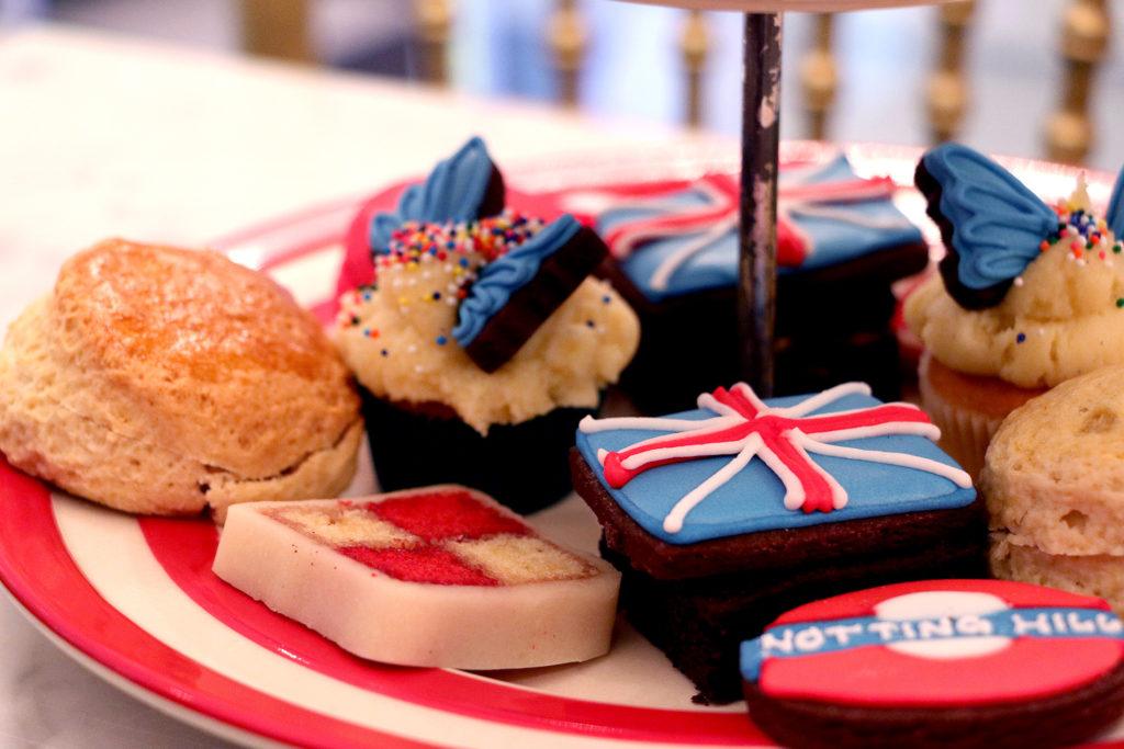 Plateau Afternoon Tea chez Biscuiteers à Londres