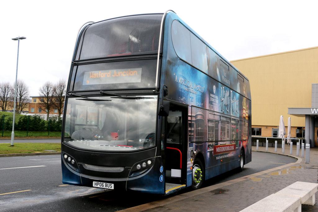 Bus pour le Harry Potter Studio, London