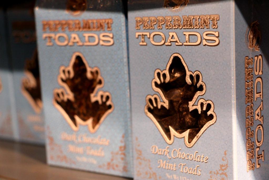 Peppermint Toads, Harry Potter Studio, London