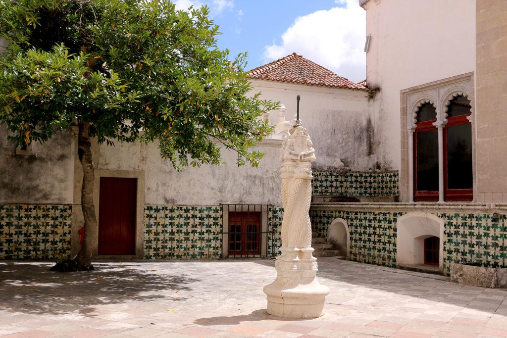 Cour du Palais National de Sintra