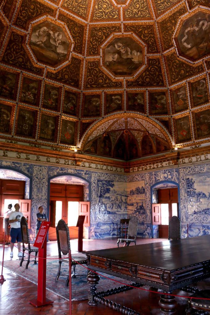 Une des salles du Palais National de Sintra