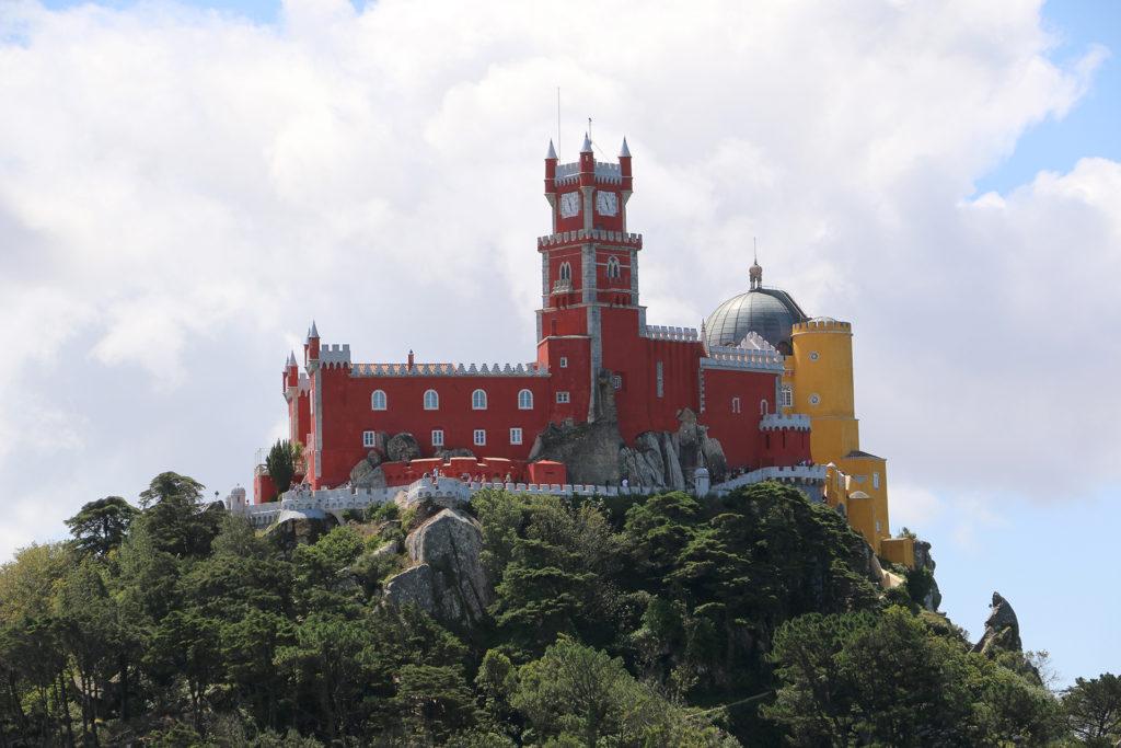 Vue sur le Palacio da Pena Sintra