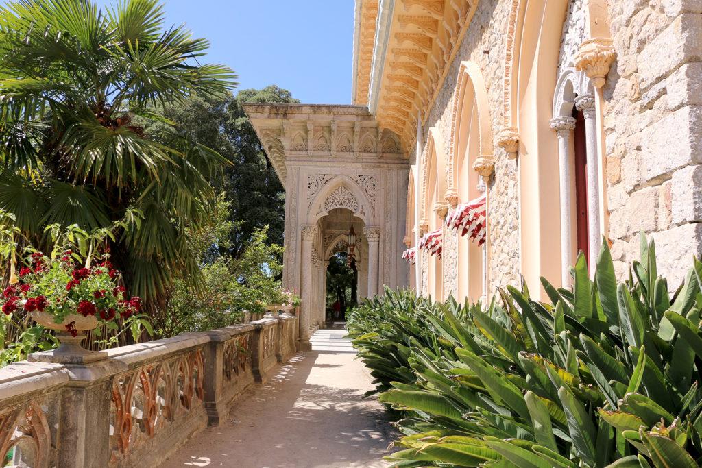 Extérieur du Palais de Monserrate