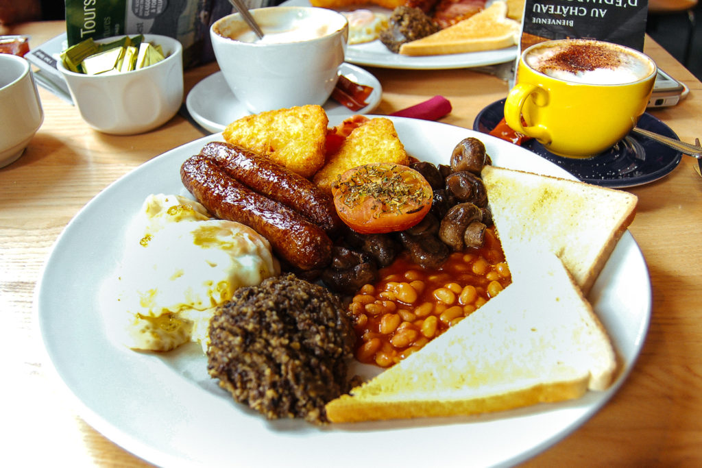 Big Belter Breakfast, Scotland