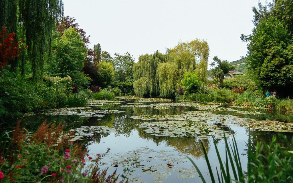 Bassin aux nymphéas, jardins de Claude Monet