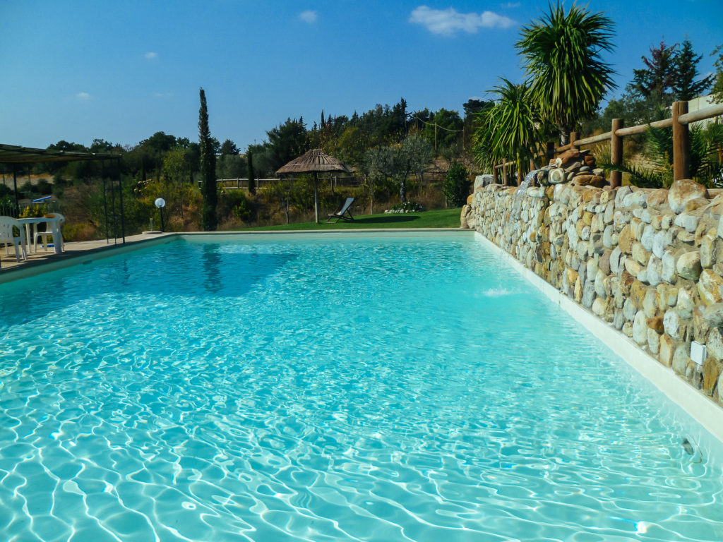 La piscina, Azienda Agrituristica San Tommaso