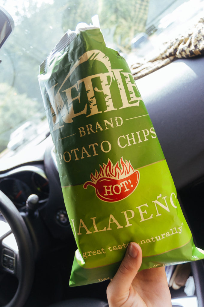 Kettle Jalapeño potato chips