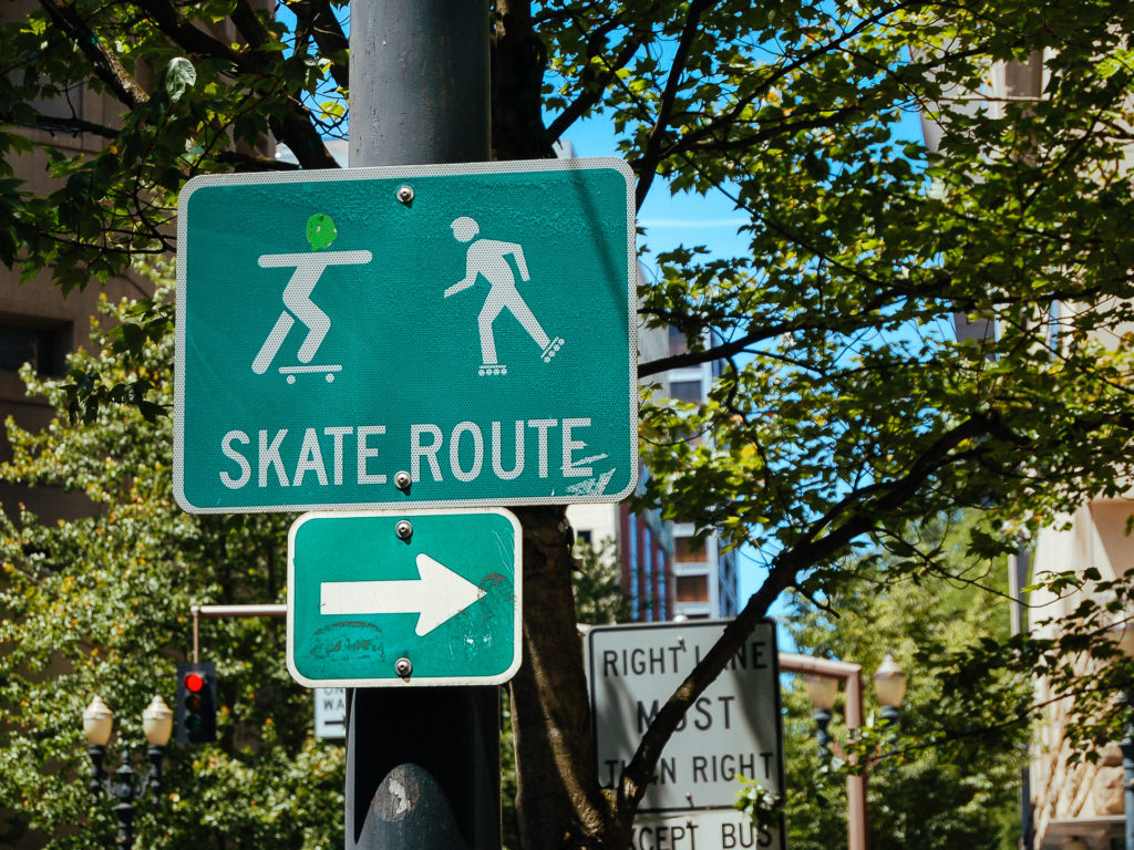 Skate route