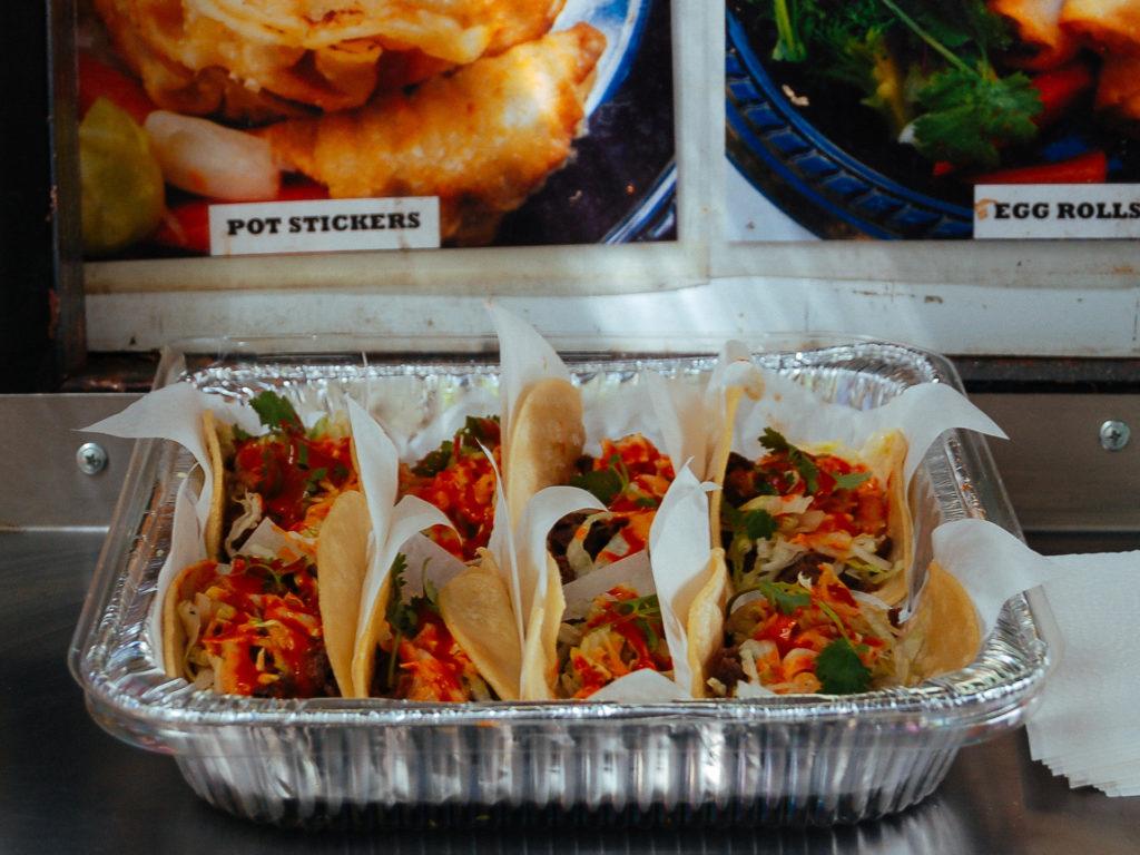Korean Tacos in Portland