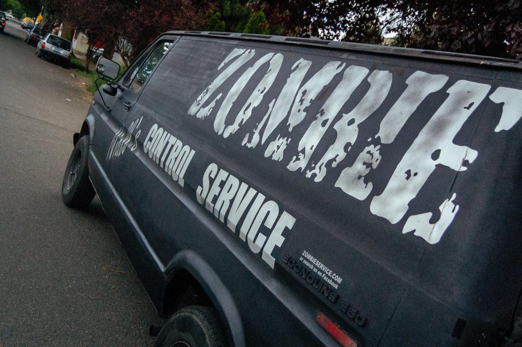 Niall's Zombie Control Service, Portland