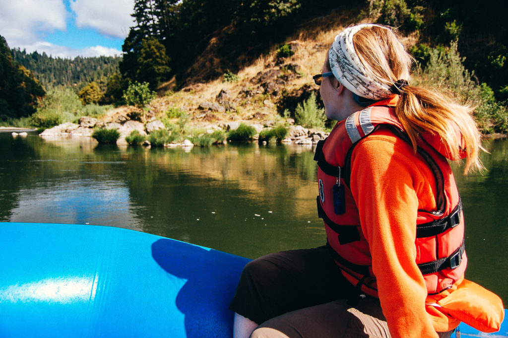 Rafting in Oregon