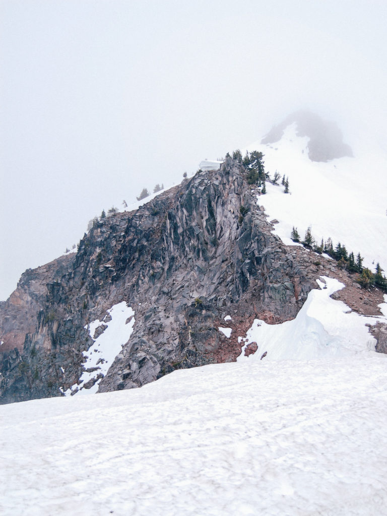 Crater Lake peak, Oregon