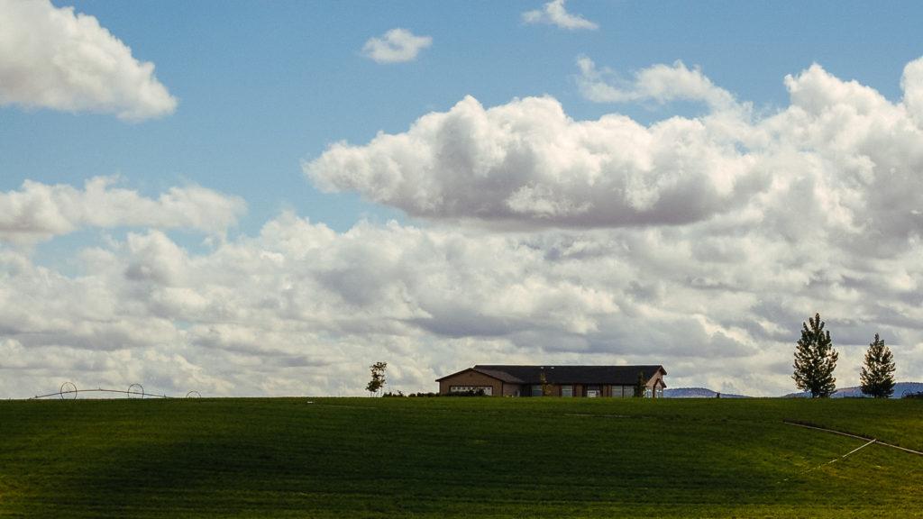 Landscape and house, Oregon