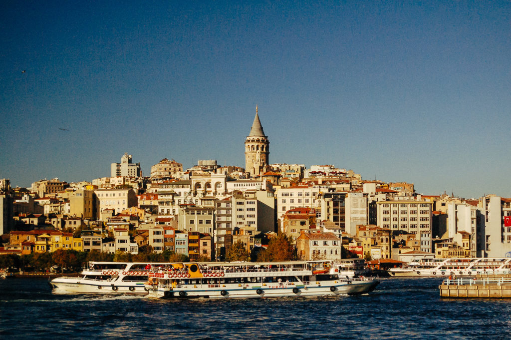 Bosphorus' West bank