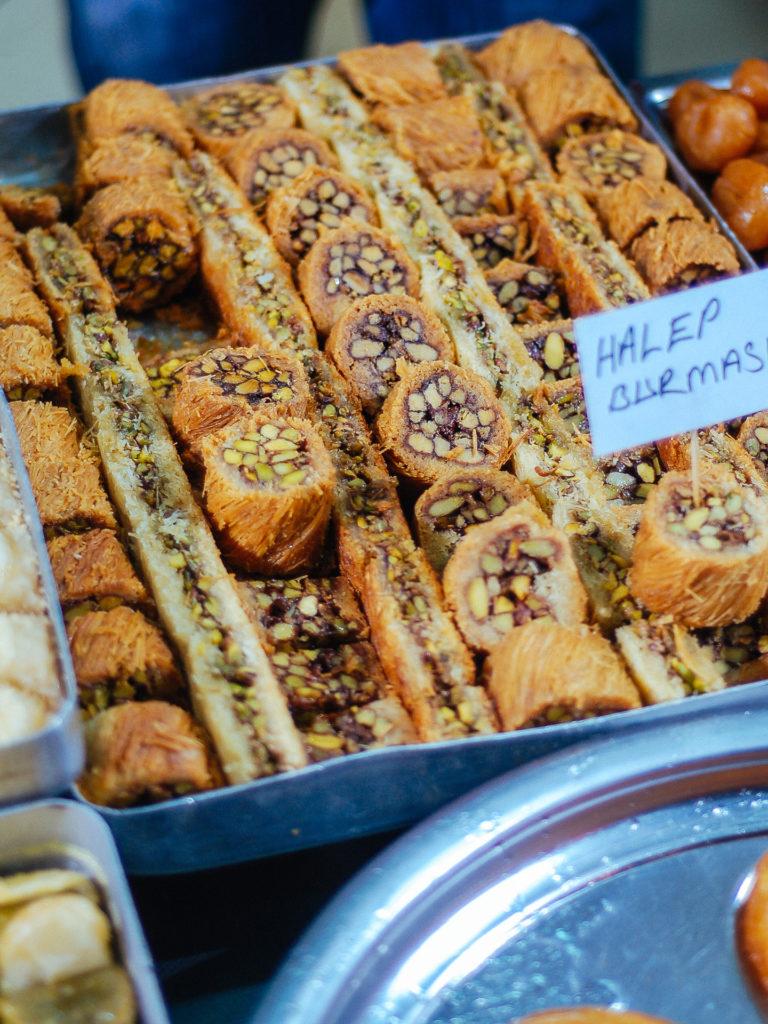 Halep burmasi, Turkish pastries