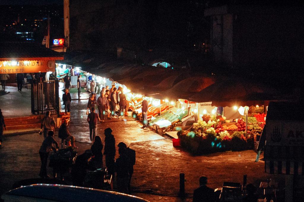 Marché aux poissons, Istanbul