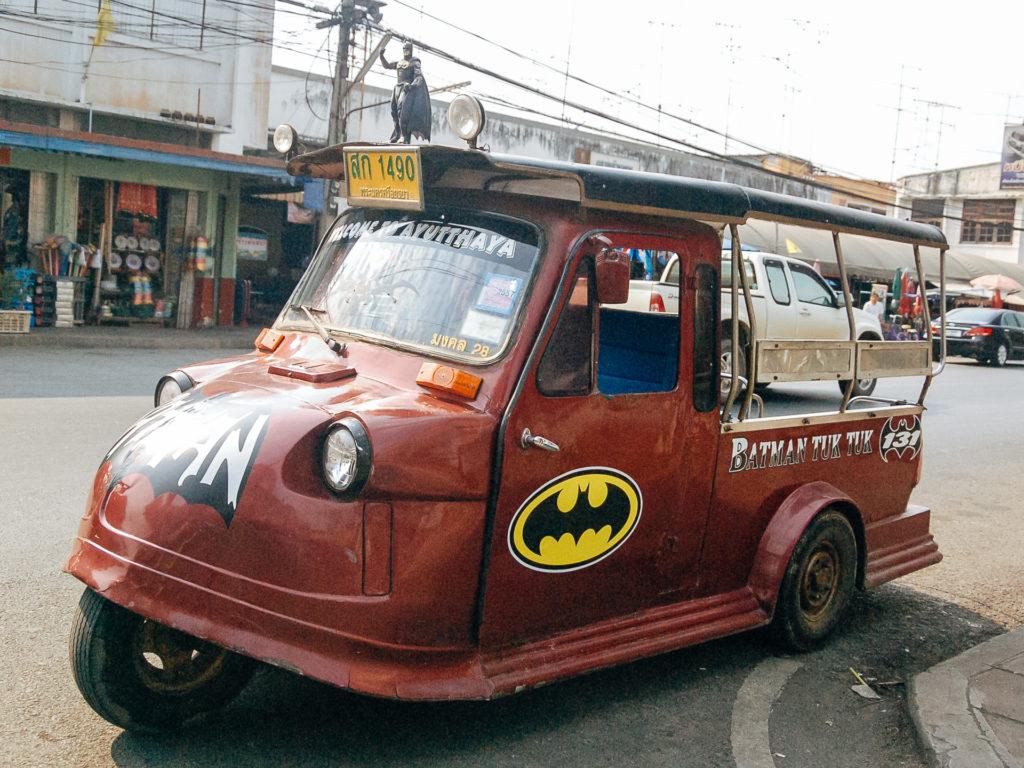 Batman Tuk Tuk, Only in Thailand