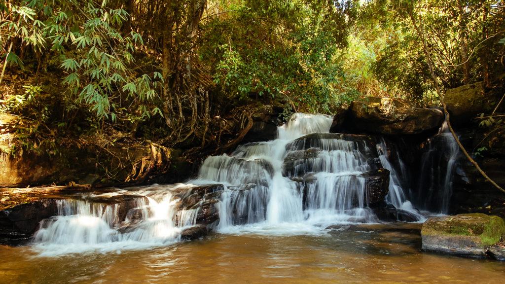 Waterfalls at a Karen village