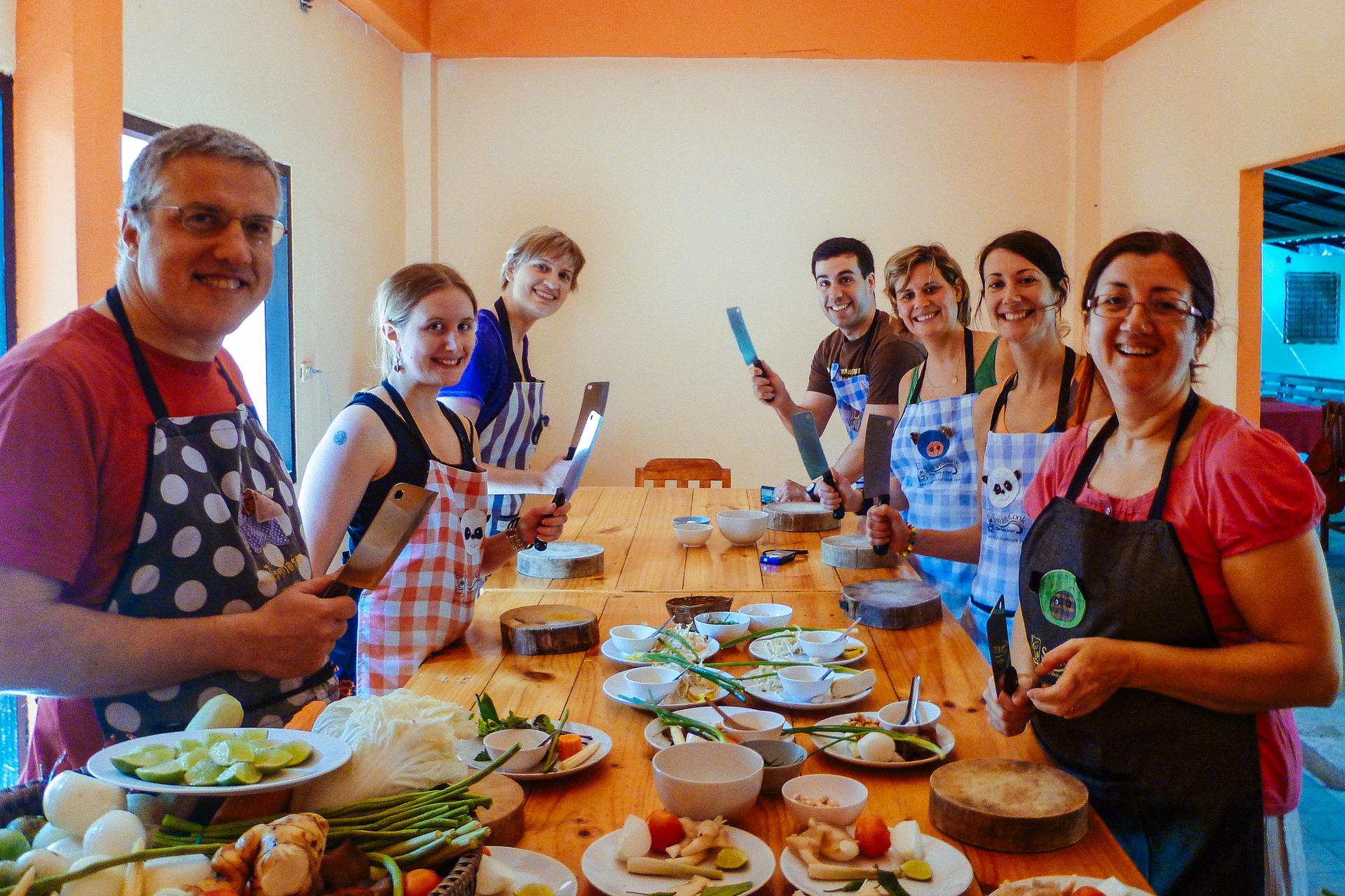 Suivre un cours de cuisine tha chiang mai yummy planet - Cours de cuisine cacher ...