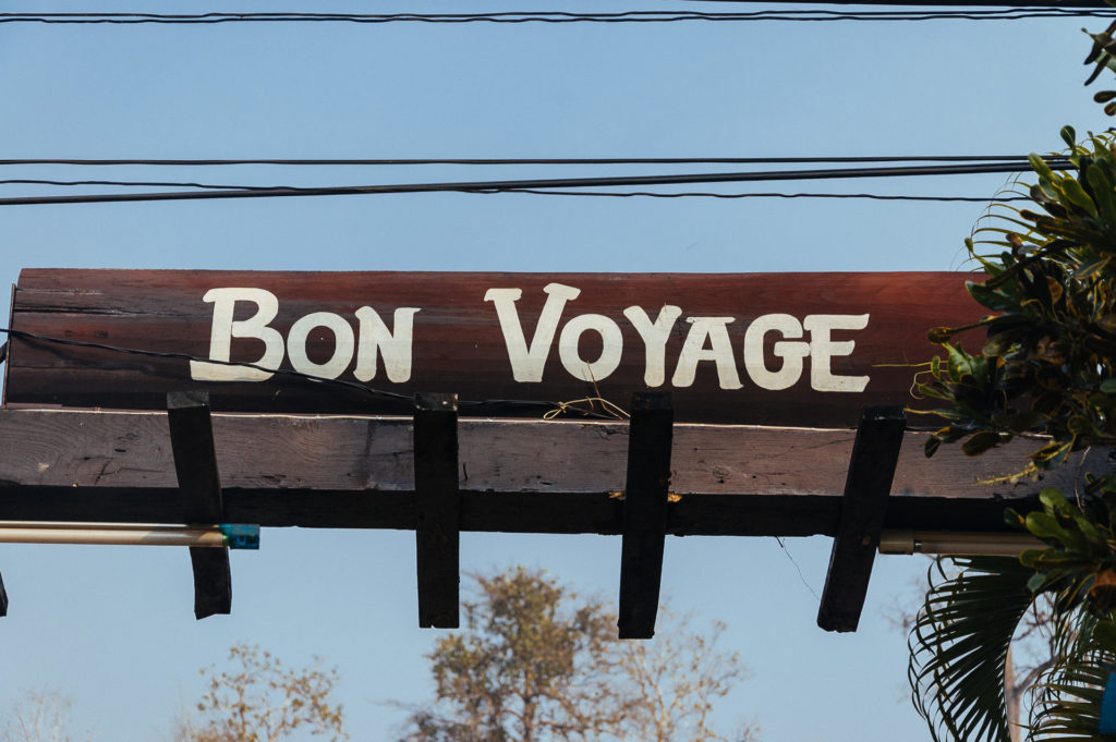 Bon voyage, Thailand