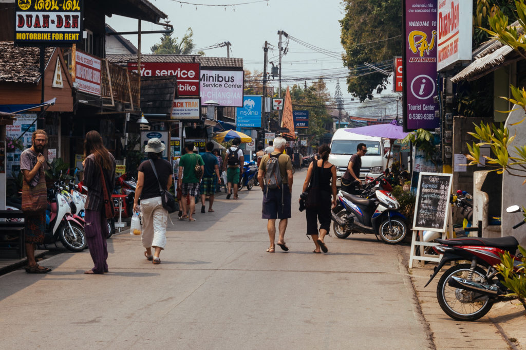Streets of Pai, Thailand