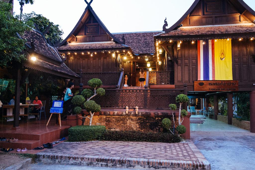 Tek houses in Lampang