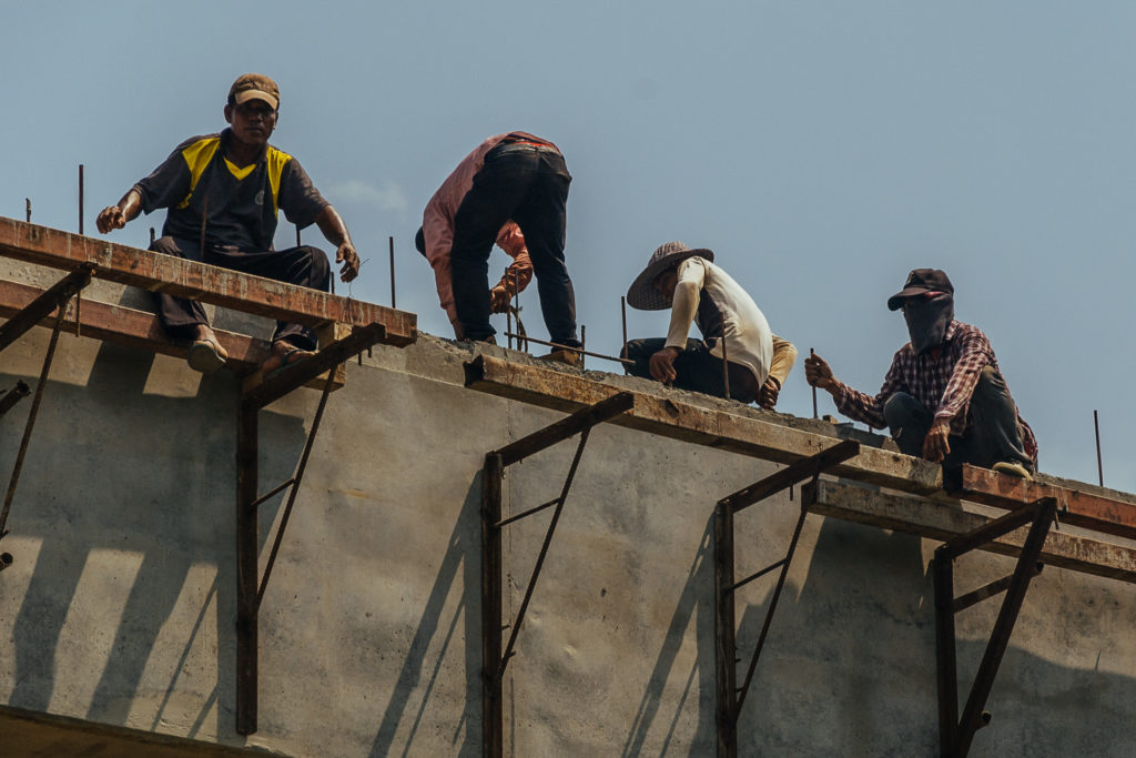 Burmese illegal workers in Bangkok