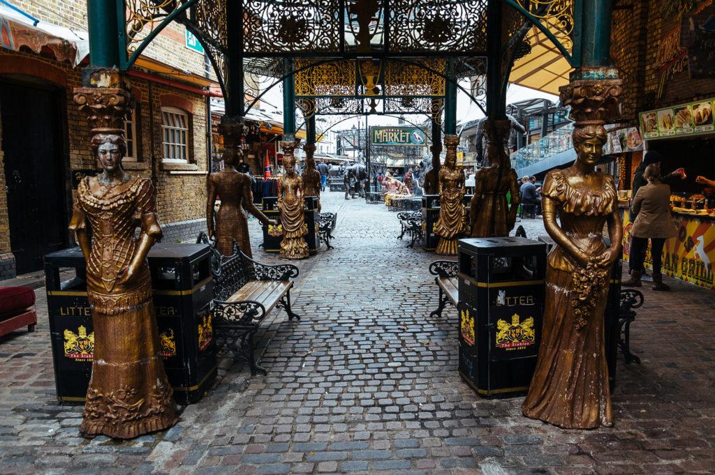 Maidens in Camden Market, London