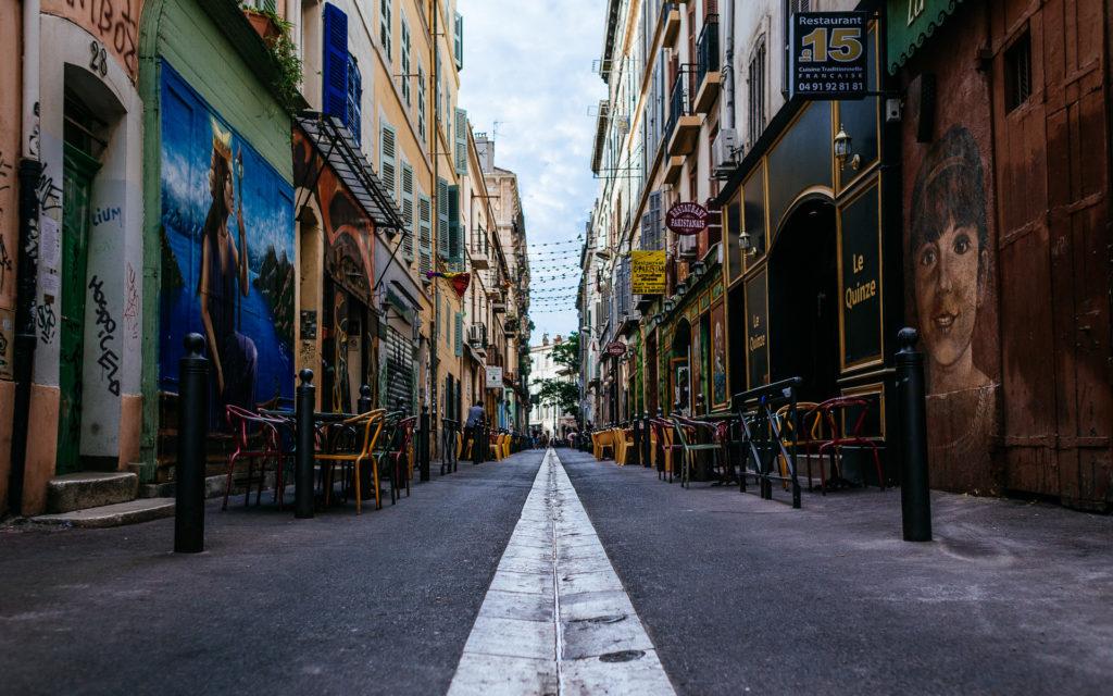 Rue des 3 rois, Marseille