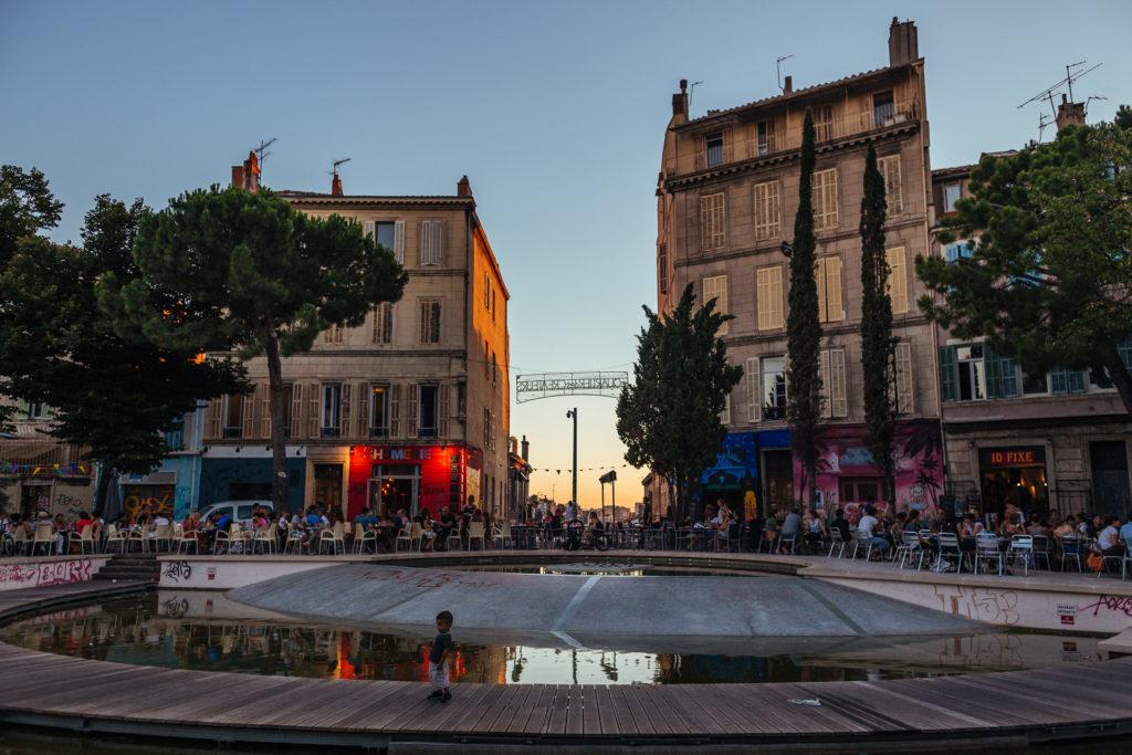 Quartier des créateurs, Cours Julien, Marseille