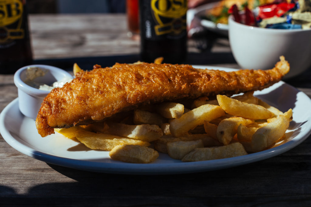 Fish 'n Chips, Porthgain