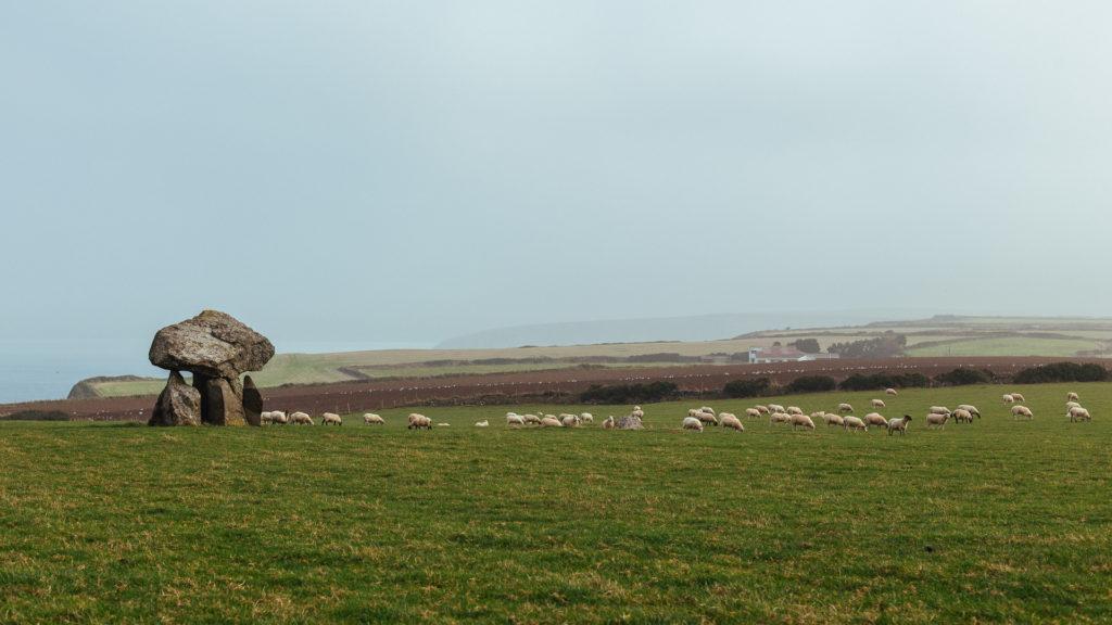 Carreg Samson megalithic site