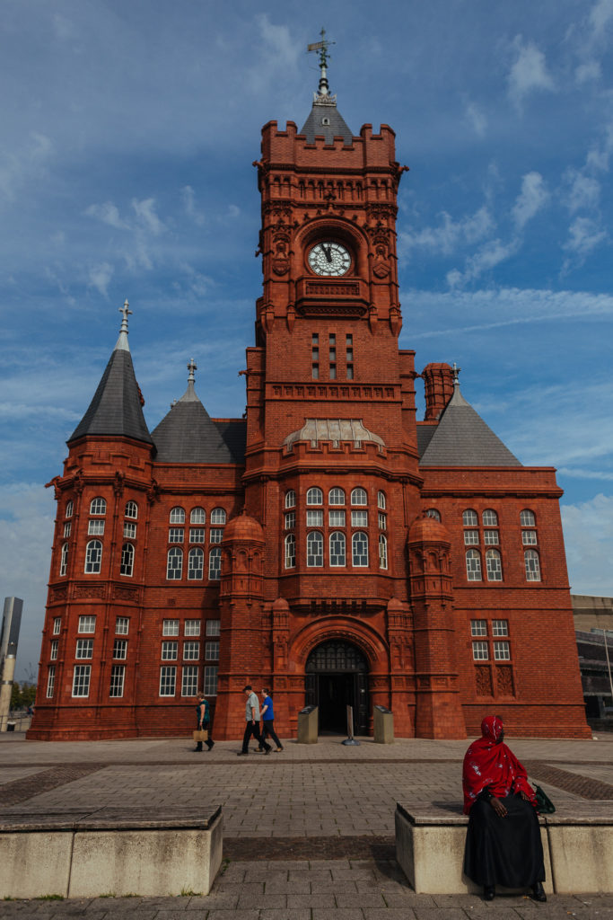 Cardiff Bay's Pierhead building
