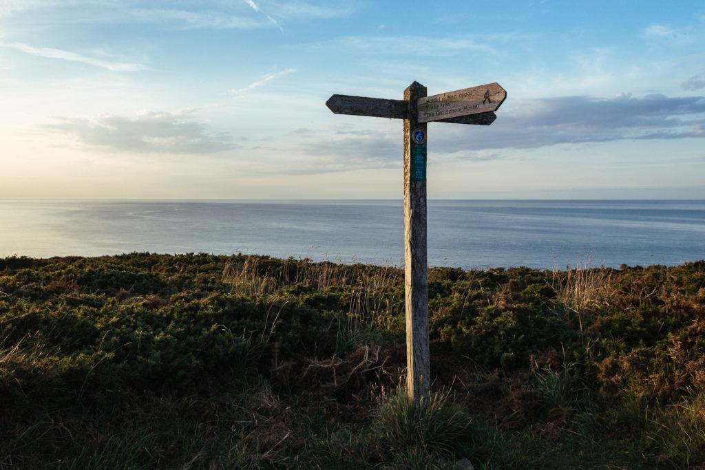 Pembrokeshire Coastal path, Trefin