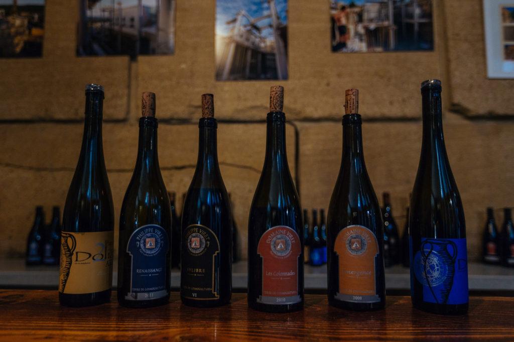 Dégustation des vins du domaine Viret