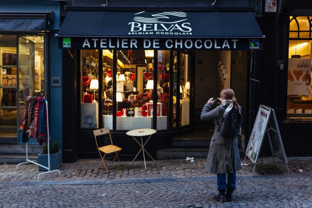 Chocolatier Belvas, Bruxelles