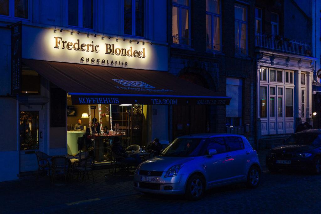 Chocolatier Frederic Blondeel, Bruxelles