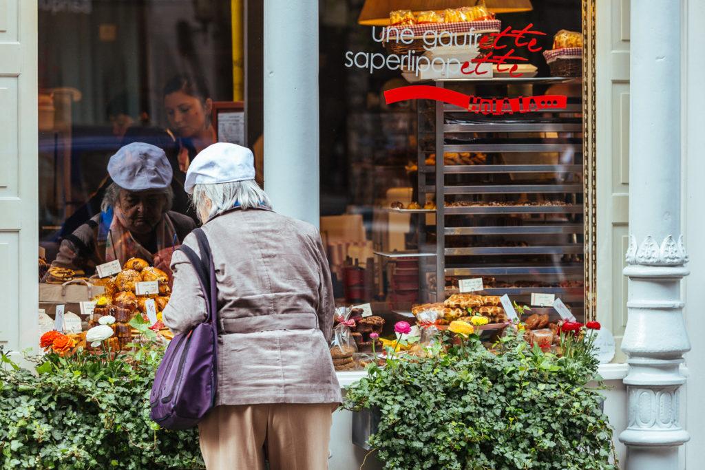 Que de tentations chez Une Gaufrette Saperlipopette, Liège