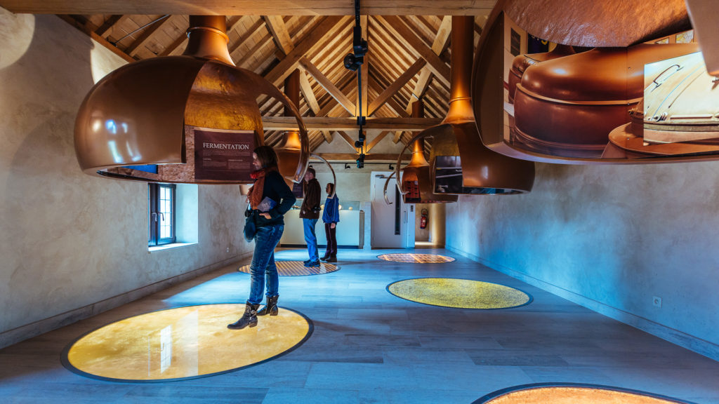Visite éducative sur le brassage de la bière à Orval