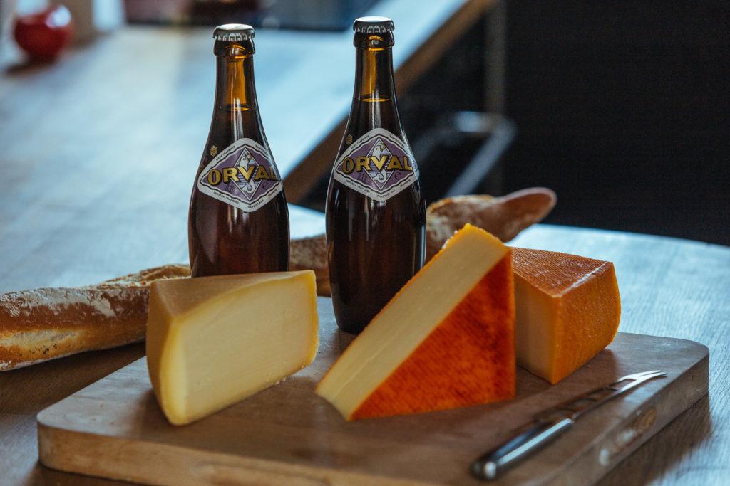 Bière et fromages d'Orval