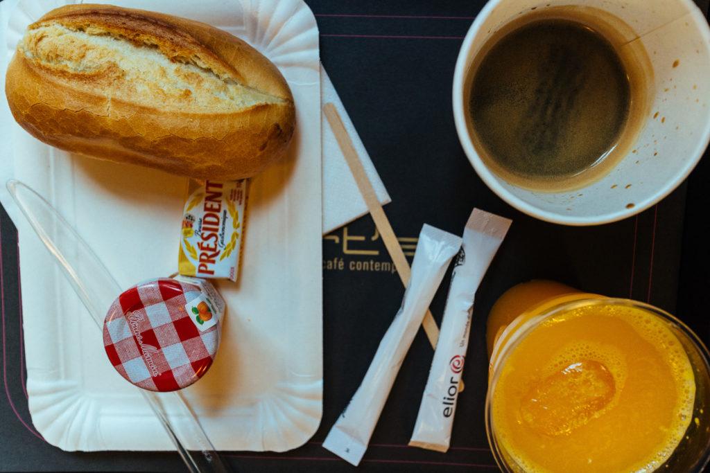 What a Bert's breakfast really looks like