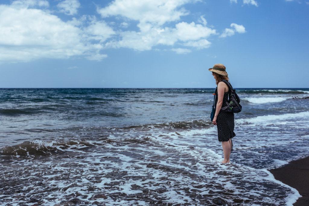 Frédérique à la découverte d'un nouveau monde, Guadeloupe
