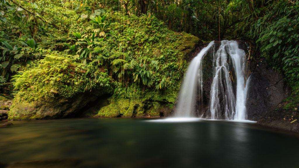 Chute aux écrevisses, Guadeloupe