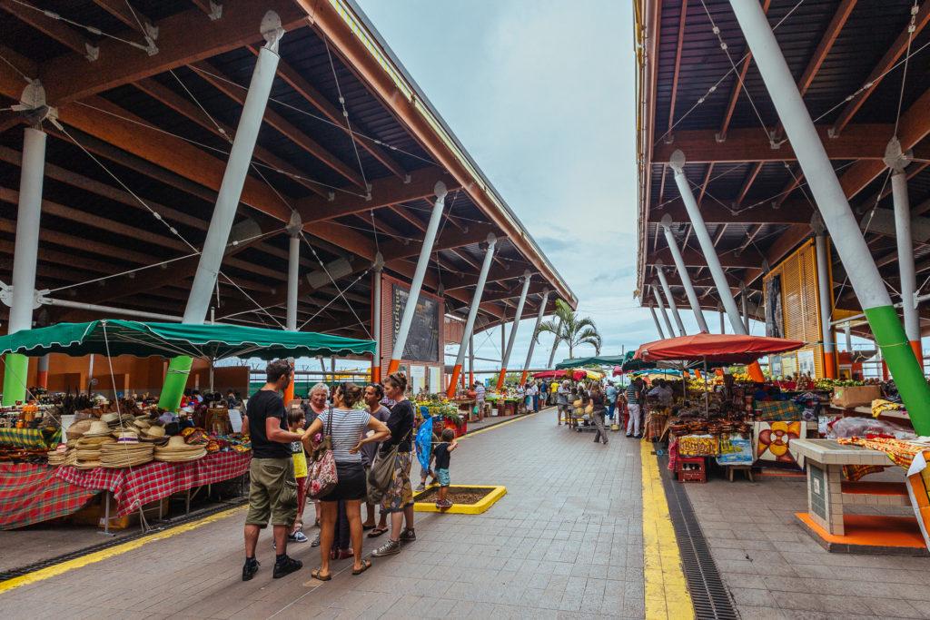 Marché de Basse-Terre, Guadeloupe