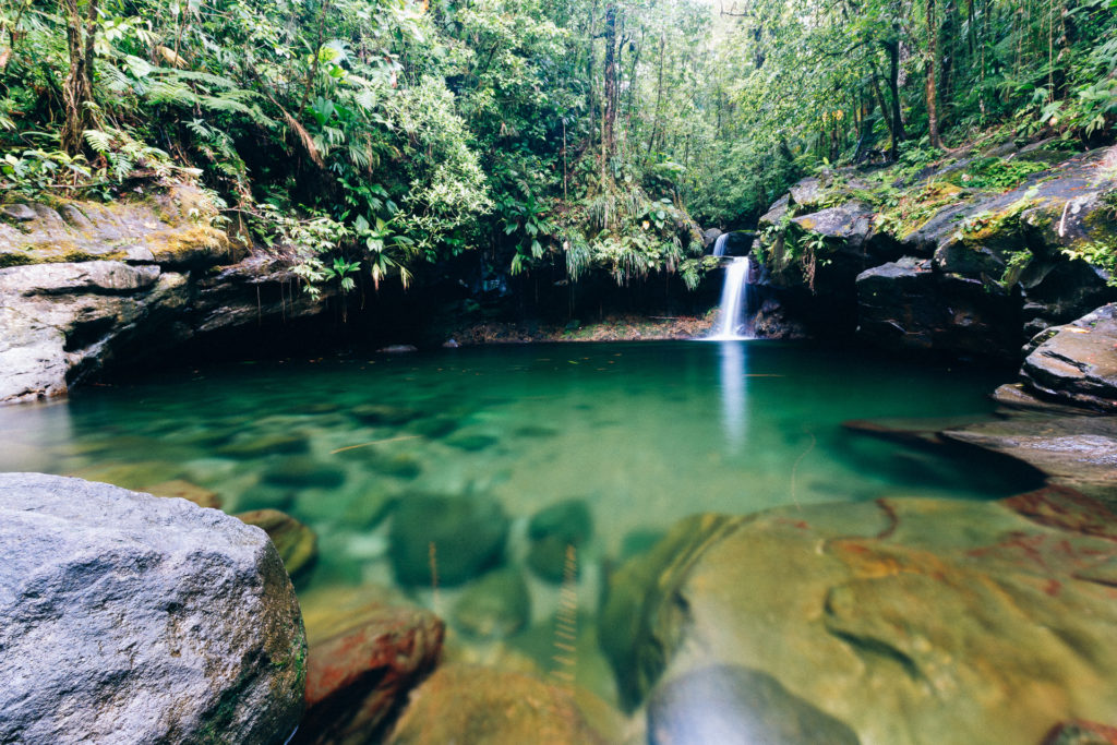 Bassin paradis, Guadeloupe