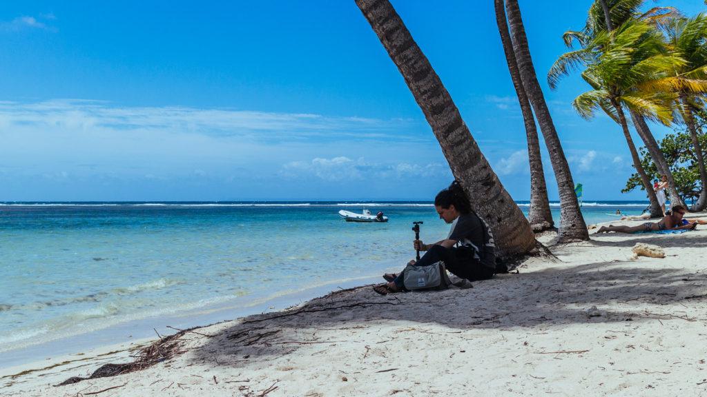 Plage de la Caravelle, Sainte Anne, Guadeloupe