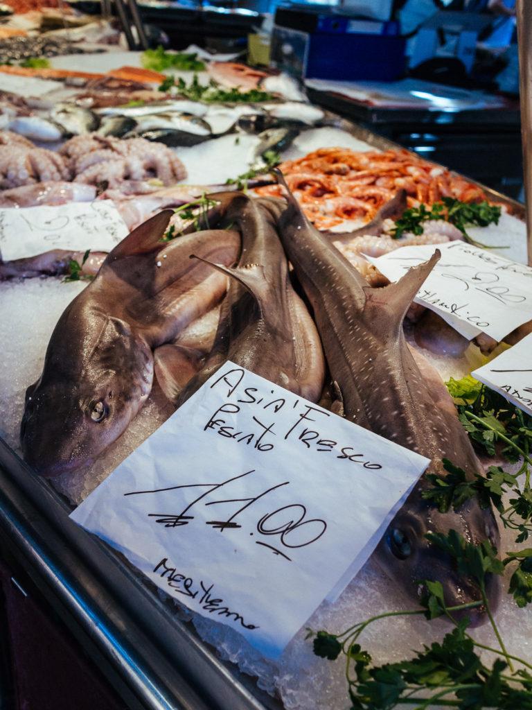Fresco pescato, Venise