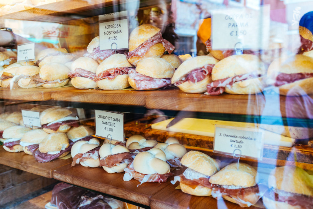 Toutes sortes de sandwiches, Venise