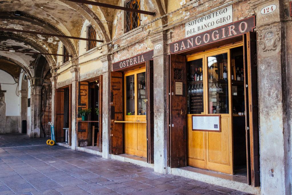 Osteria Bancogiro, Venise